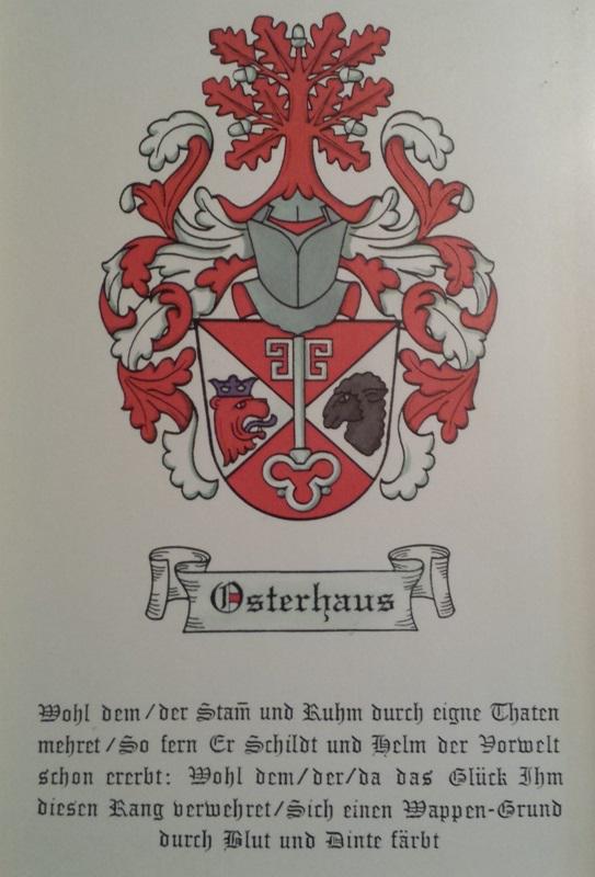 Familienwappen Osterhaus